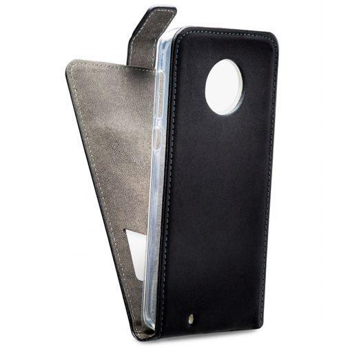 Productafbeelding van de Mobilize Classic Gelly Flip Case Black Motorola Moto G6