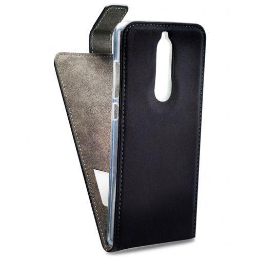 Productafbeelding van de Mobilize Classic Gelly Flip Case Black Nokia 5.1