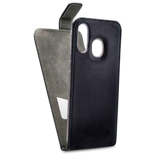 Productafbeelding van de Mobilize Classic Gelly Flip Case Black Samsung Galaxy A40