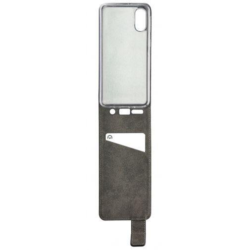 Produktimage des Mobilize Classic Gelly Flip Case Schwarz Samsung Galaxy A40