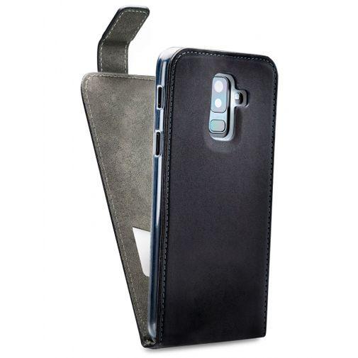 Produktimage des Mobilize Classic Gelly Flip Case Schwarz Samsung Galaxy A6+