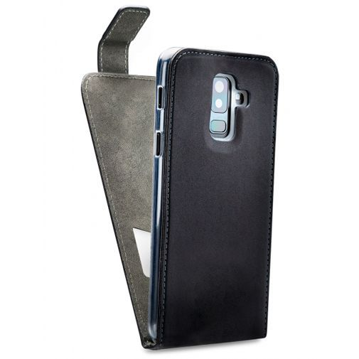 Productafbeelding van de Mobilize Classic Gelly Flip Case Black Samsung Galaxy A6+