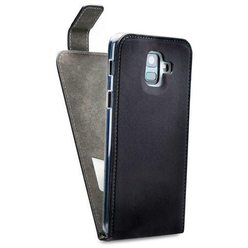 Produktimage des Mobilize Classic Gelly Flip Case Schwarz Samsung Galaxy A6