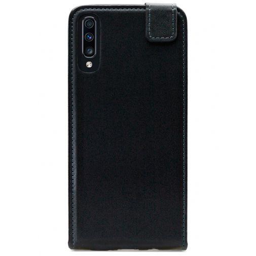Produktimage des Mobilize Classic Gelly Flip Case Schwarz Samsung Galaxy A70