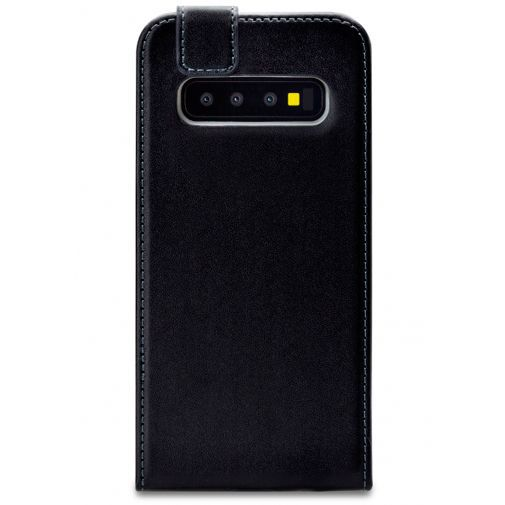 Productafbeelding van de Mobilize Classic Gelly Flip Case Black Samsung Galaxy S10+