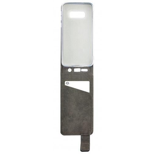 Produktimage des Mobilize Classic Gelly Flip Case Schwarz Samsung Galaxy S10e