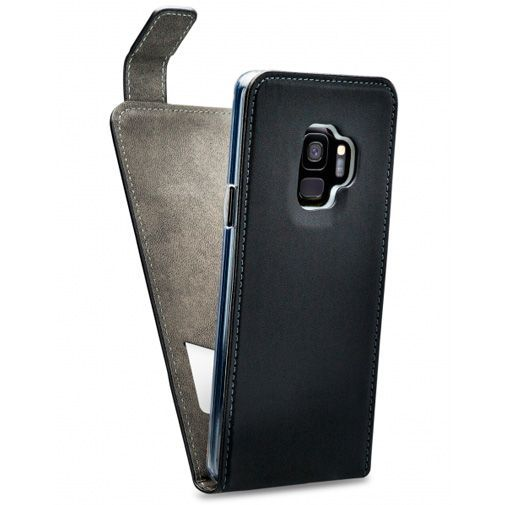 Productafbeelding van de Mobilize Classic Gelly Flip Case Black Samsung Galaxy S9