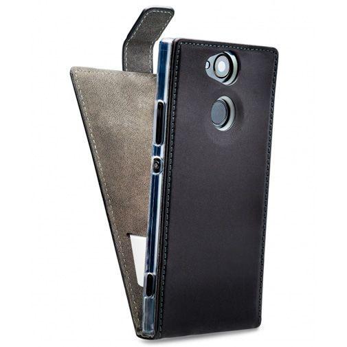 Productafbeelding van de Mobilize Classic Gelly Flip Case Black Sony Xperia XA2