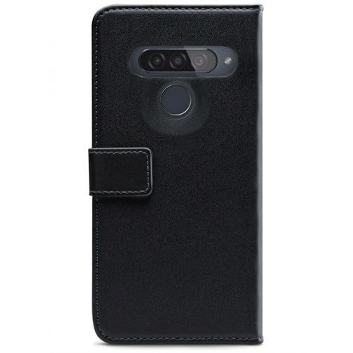 Produktimage des Mobilize Classic Gelly Wallet Book Case Schwarz LG G8s ThinQ