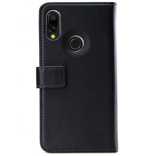 Productafbeelding van de Mobilize Classic Gelly Wallet Book Case Black Xiaomi Redmi 7