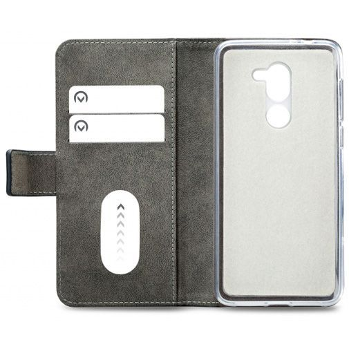 Productafbeelding van de Mobilize Classic Gelly Wallet Book Case Black Alcatel 3X