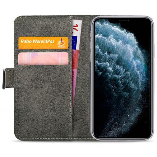 Productafbeelding van de Mobilize Classic Gelly Wallet Book Case Black Apple iPhone 11 Pro Max