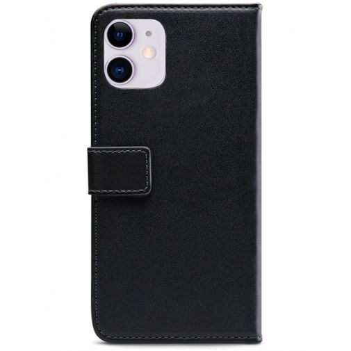 Productafbeelding van de Mobilize Classic Gelly Wallet Book Case Black Apple iPhone 11