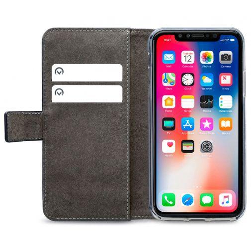 Produktimage des Mobilize Classic Gelly Wallet Book Case Schwarz Apple iPhone XR