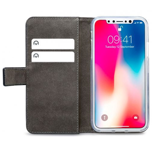 Produktimage des Mobilize Classic Gelly Wallet Book Case Schwarz Apple iPhone XS Max