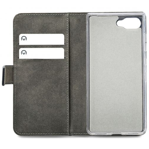 Productafbeelding van de Mobilize Classic Gelly Wallet Book Case Black BlackBerry KEY2 LE