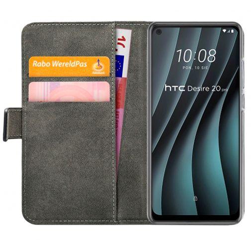 Productafbeelding van de Mobilize Classic Gelly Wallet Book Case Black HTC Desire 20 Pro