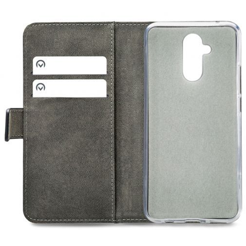 Productafbeelding van de Mobilize Classic Gelly Wallet Book Case Black Huawei Mate 20 Lite