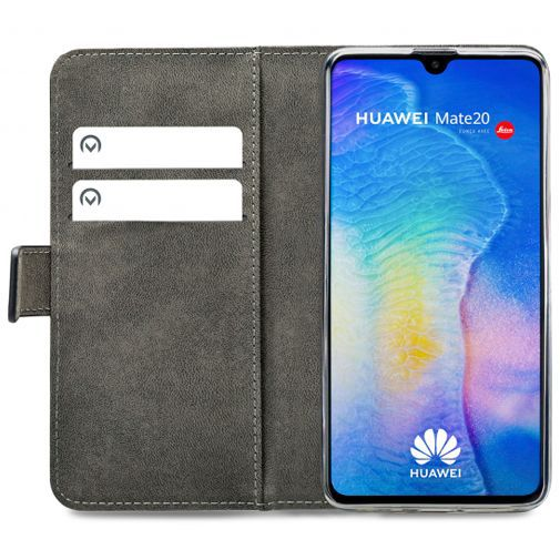 Productafbeelding van de Mobilize Classic Gelly Wallet Book Case Black Huawei Mate 20
