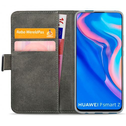 Produktimage des Mobilize Classic Gelly Wallet Book Case Schwarz Huawei P Smart Z