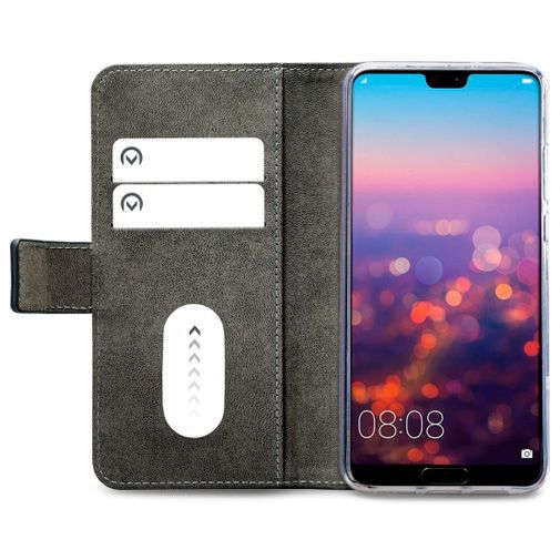 Productafbeelding van de Mobilize Classic Gelly Wallet Book Case Black Huawei P20