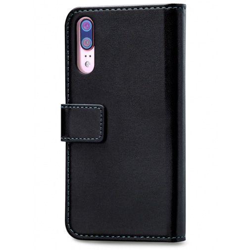 Productafbeelding van de Mobilize Classic Gelly Wallet Book Case Black Huawei P20