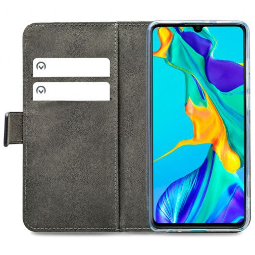 Productafbeelding van de Mobilize Classic Gelly Wallet Book Case Black Huawei P30