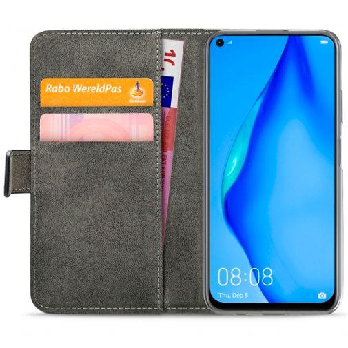 Productafbeelding van de Mobilize Classic Gelly Wallet Book Case Black Huawei P40 Lite