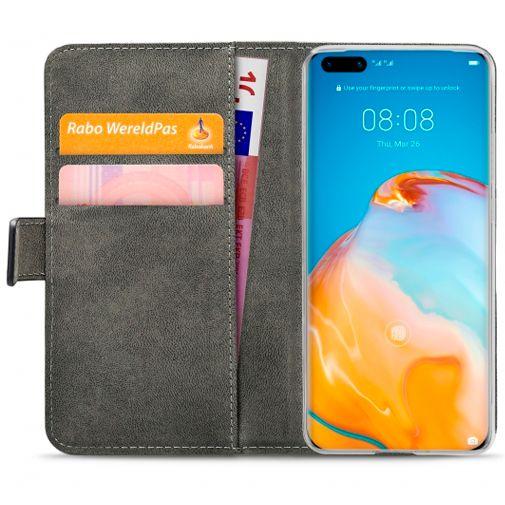 Productafbeelding van de Mobilize Classic Gelly Wallet Book Case Black Huawei P40 Pro