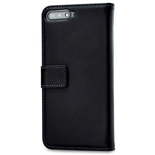 Produktimage des Mobilize Classic Gelly Wallet Book Case Schwarz Huawei Y6 (2018)