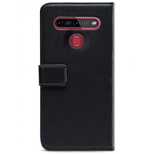 Productafbeelding van de Mobilize Classic Gelly Wallet Book Case Black LG K51s