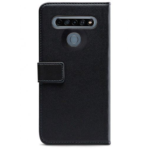 Productafbeelding van de Mobilize Classic Gelly Wallet Book Case Black LG K61