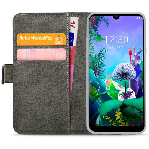 Productafbeelding van de Mobilize Classic Gelly Wallet Book Case Black LG Q60