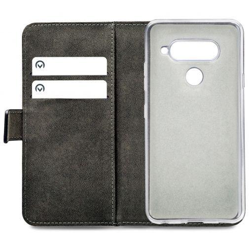 Productafbeelding van de Mobilize Classic Gelly Wallet Book Case Black LG V40 ThinQ