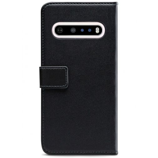 Productafbeelding van de Mobilize Classic Gelly Wallet Book Case Black LG V60 ThinQ 5G