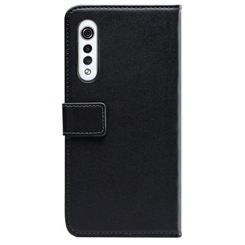 Productafbeelding van de Mobilize Classic Gelly Wallet Book Case Black LG Velvet