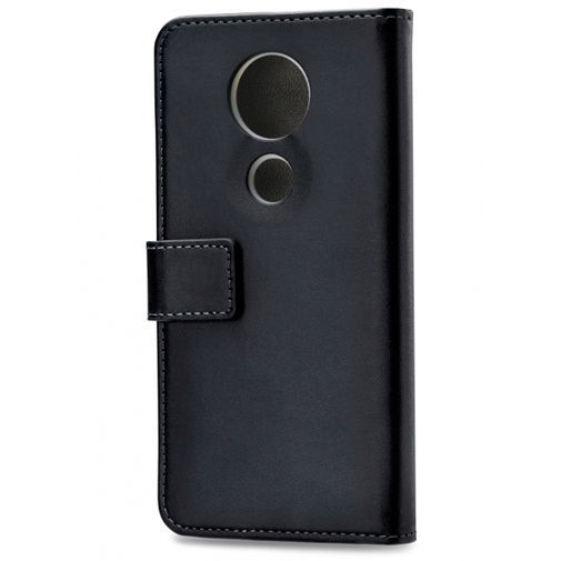 Produktimage des Mobilize Classic Gelly Wallet Book Case Schwarz Motorola Moto E5 Plus