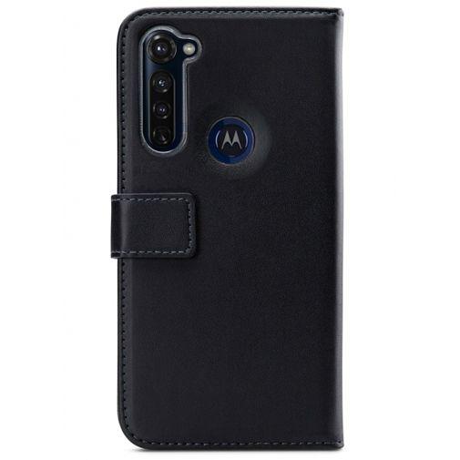 Productafbeelding van de Mobilize Classic Gelly Wallet Book Case Black Motorola Moto G Pro