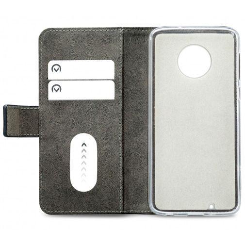 Productafbeelding van de Mobilize Classic Gelly Wallet Book Case Black Motorola Moto G6