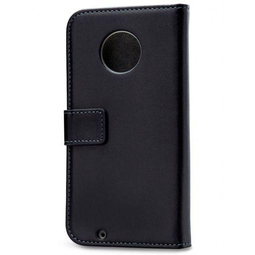 Produktimage des Mobilize Classic Gelly Wallet Book Case Schwarz Motorola Moto G6