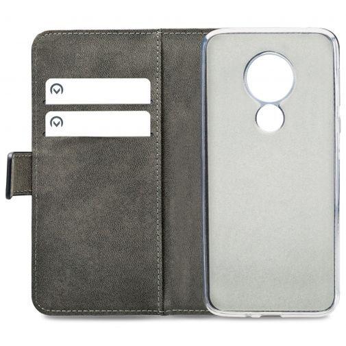 Productafbeelding van de Mobilize Classic Gelly Wallet Book Case Black Motorola Moto G7 Power