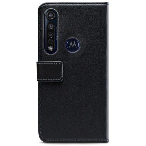 Produktimage des Mobilize Classic Gelly Wallet Book Case Schwarz Motorola Moto G8 Plus