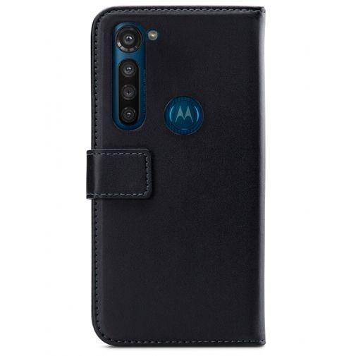 Productafbeelding van de Mobilize Classic Gelly Wallet Book Case Black Motorola Moto G8 Power