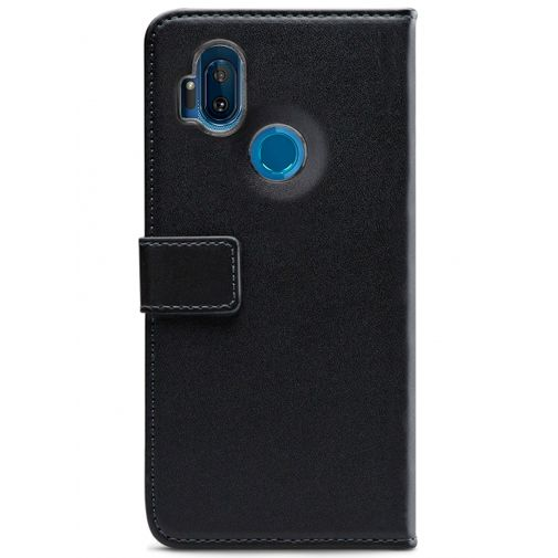 Produktimage des Mobilize Classic Gelly Wallet Book Case Schwarz Motorola One Hyper