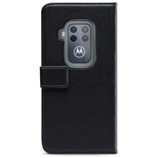 Productafbeelding van de Mobilize Classic Gelly Wallet Book Case Black Motorola One Zoom