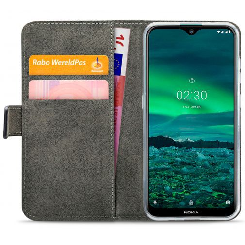 Productafbeelding van de Mobilize Classic Gelly Wallet Book Case Black Nokia 2.3