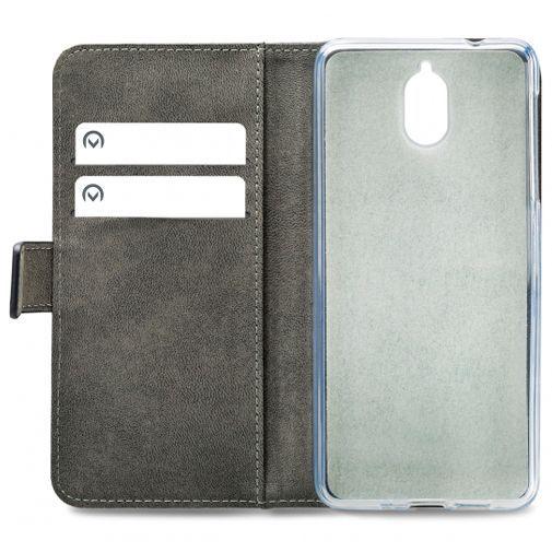 Productafbeelding van de Mobilize Classic Gelly Wallet Book Case Black Nokia 3.1