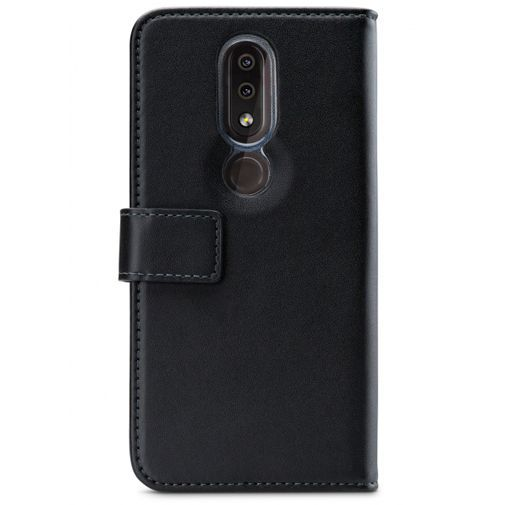 Productafbeelding van de Mobilize Classic Gelly Wallet Book Case Black Nokia 4.2