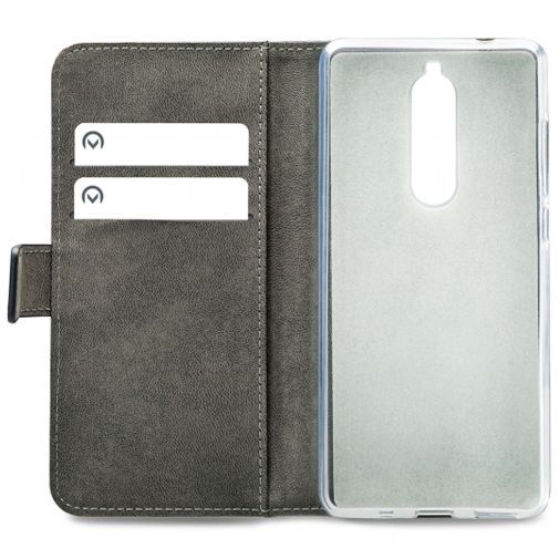 Produktimage des Mobilize Classic Gelly Wallet Book Case Schwarz Nokia 5.1