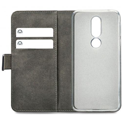 Produktimage des Mobilize Classic Gelly Wallet Book Case Schwarz Nokia 7.1